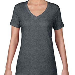 Ladies' Featherweight V-Neck T-Shirt Thumbnail