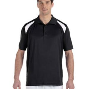 Adult 4 oz. Polytech Colorblock Polo Thumbnail