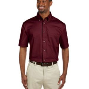 Men's Easy Blend™ Short-Sleeve Twill Shirt with Stain-Release Thumbnail