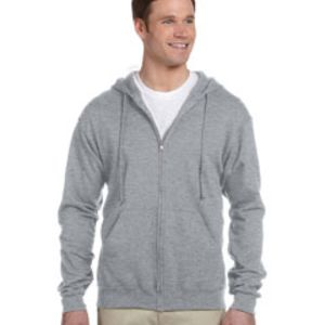 Adult 8 oz. NuBlend® Fleece Full-Zip Hood Thumbnail