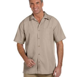 Men's Barbados Textured Camp Shirt Thumbnail