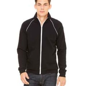 Men's Piped Fleece Jacket Thumbnail