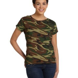 Ladies' Camo T-Shirt Thumbnail