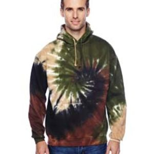 Adult 8.5 oz. Tie-Dyed Pullover Hood Thumbnail