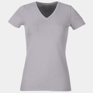 Ladies' 5 oz. HD Cotton™ V-Neck T-Shirt Thumbnail
