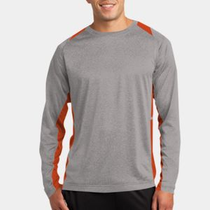 Long Sleeve Heather Colorblock Contender ™ Tee Thumbnail