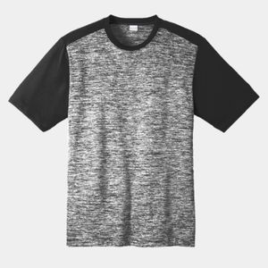PosiCharge ® Electric Heather Colorblock Tee Thumbnail
