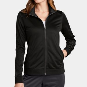 ® Ladies Tricot Track Jacket Thumbnail